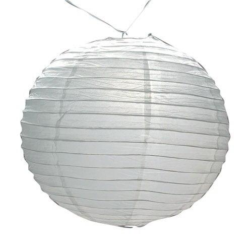 (Price/Each)US TOY OD63 White Paper Lanterns