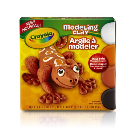 Crayola Modeling Clay  Pack Of 4  Natural