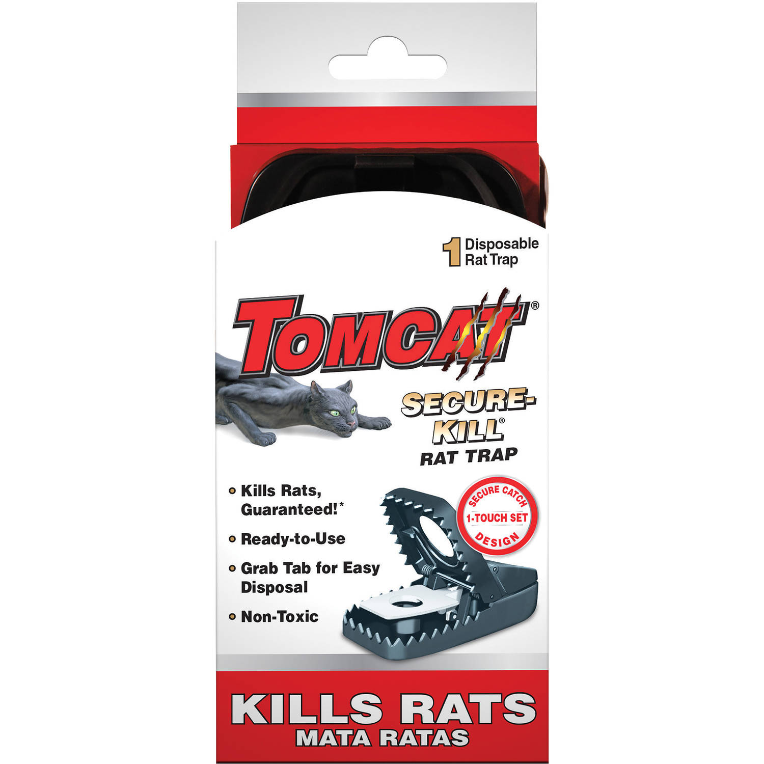 Tomcat Secure-Kill Snap Rat Trap, 1 Trap