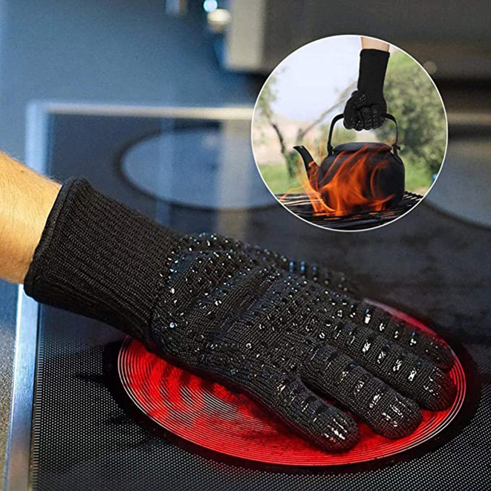 Better Life New 800 Degrees High Temperature Resistant Gloves Microwave  Oven Kitchen Bbq Gloves Anti-Scalding And Heat Insulation Gloves -  Walmart.com - Walmart.com