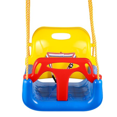 3 In 1 High Back Toddler Swing Baby Outdoor Swing Seat Seat Heavy