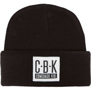 Comeback Kid Men's CBK Logo Beanie Black