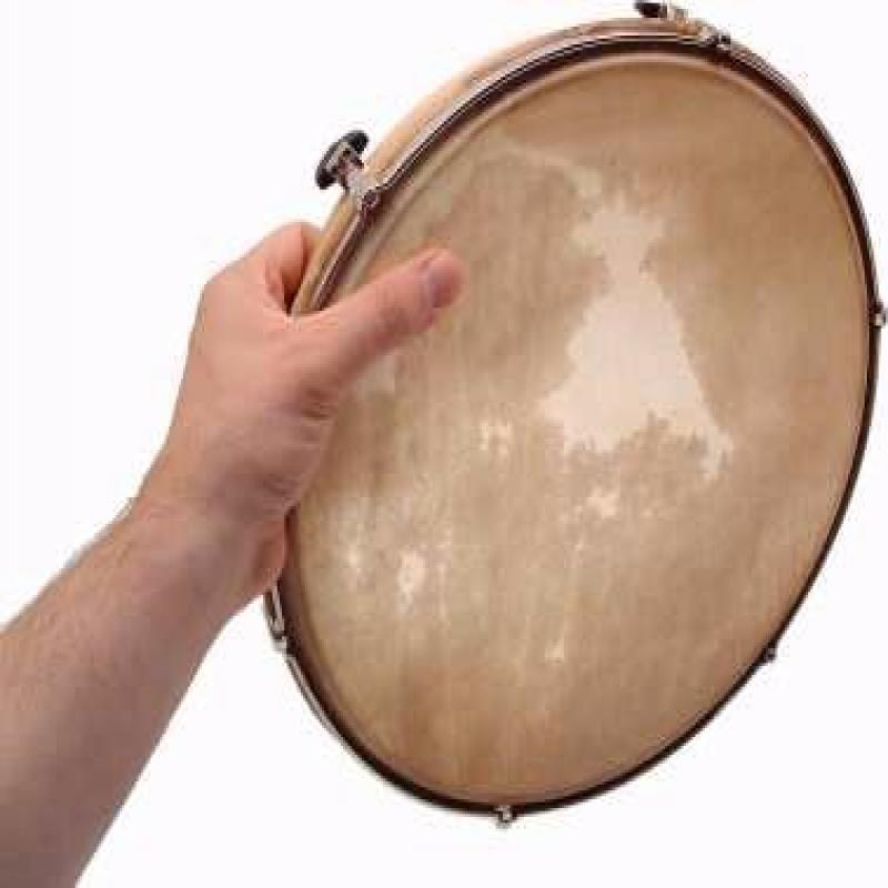 "Sonor LHDN13 13"" Tunable Hand Drum with Skin Head by"