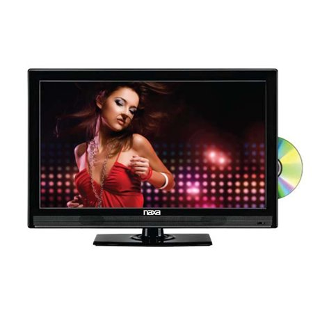 NAXA NTD-1952 19-Inch Widescreen HD LED TV with Built-In Digital TV Tuner and USB/SD Inputs and DV Multi-Colored