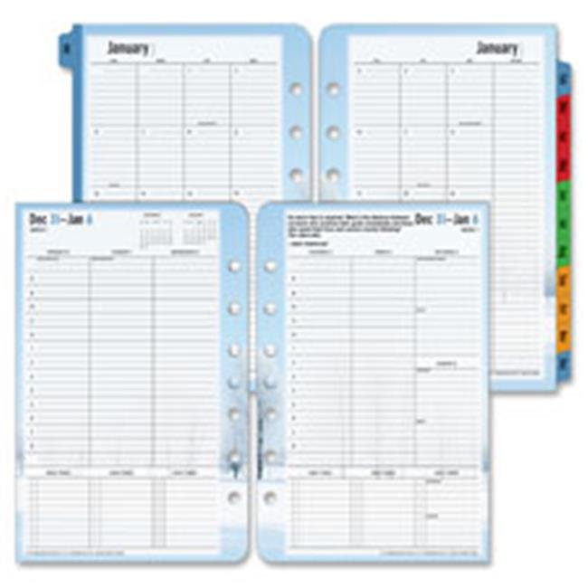 Franklin Covey Co. FDP37624 Weekly Planner Refill,Seasons,Classic,Jan-Dec,5.5 in. x 8.5 in.