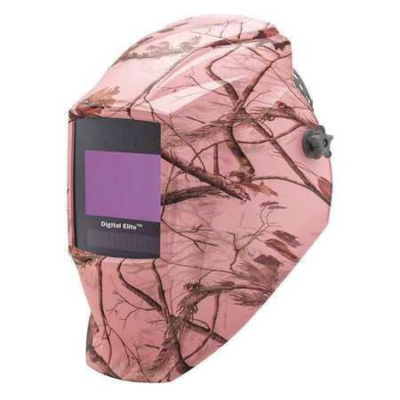 MILLER 273953 Auto Darkening Welding Helmet,Pink G4323098