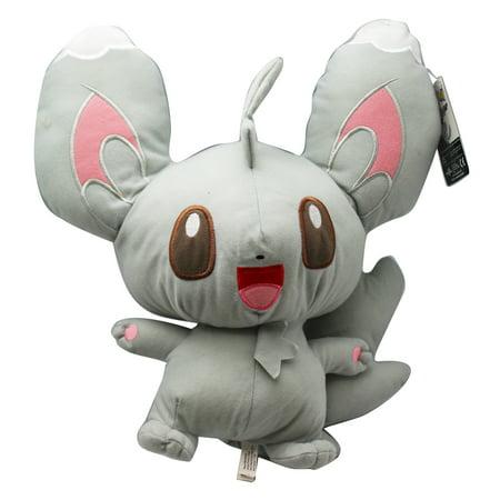 pokemon minccino large size kids stuffed plush toy 15in walmart com