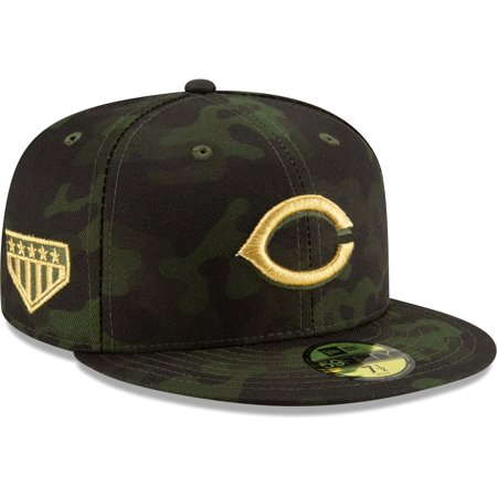 Cincinnati Reds New Era 2019 MLB Armed Forces Day On-Field 59FIFTY Fitted Hat -