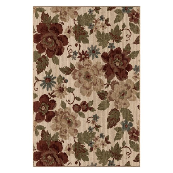 Better Homes And Gardens Floral Ivory Area Rug And Runner
