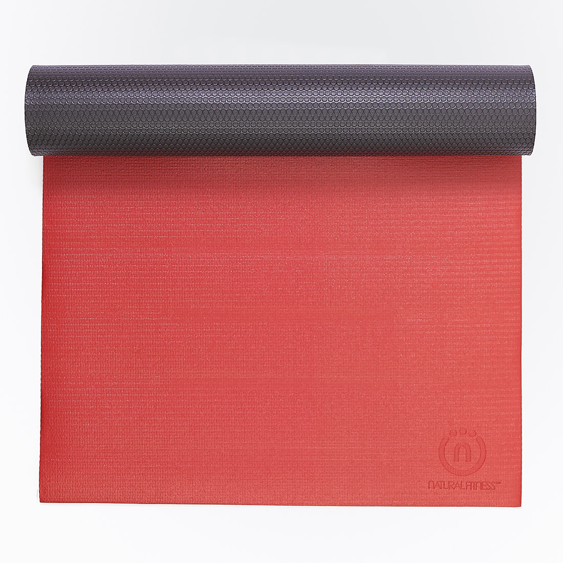 Natural Fitness 5mm Thick Warrior Yoga Mat Designed for Comfortable Support and Studio Use