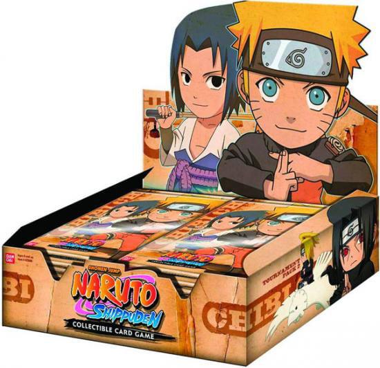 Naruto TCG Shippuden 1st Chibi Tournament Series 3 Booster Box 24 BOOSTER PACKS