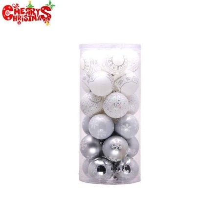 Merry Christmas! 24PCS 6cm Christmas Tree Ball Baubles ...