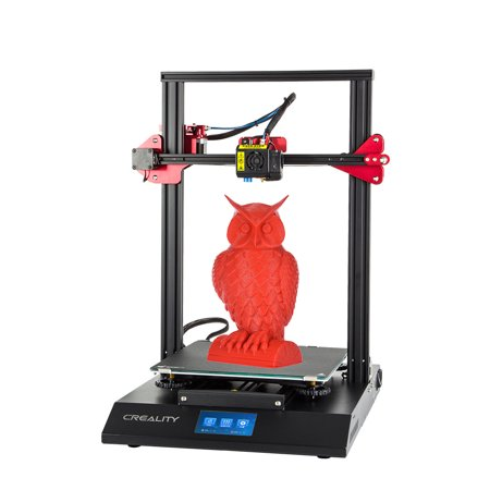 CREALITY CR-10S Pro Upgraded Auto Leveling 3D Printer DIY Self-assembly Kit 300*300*400mm Large Print Size Full Color LCD Touchscreen Supports Resume Printing Filament