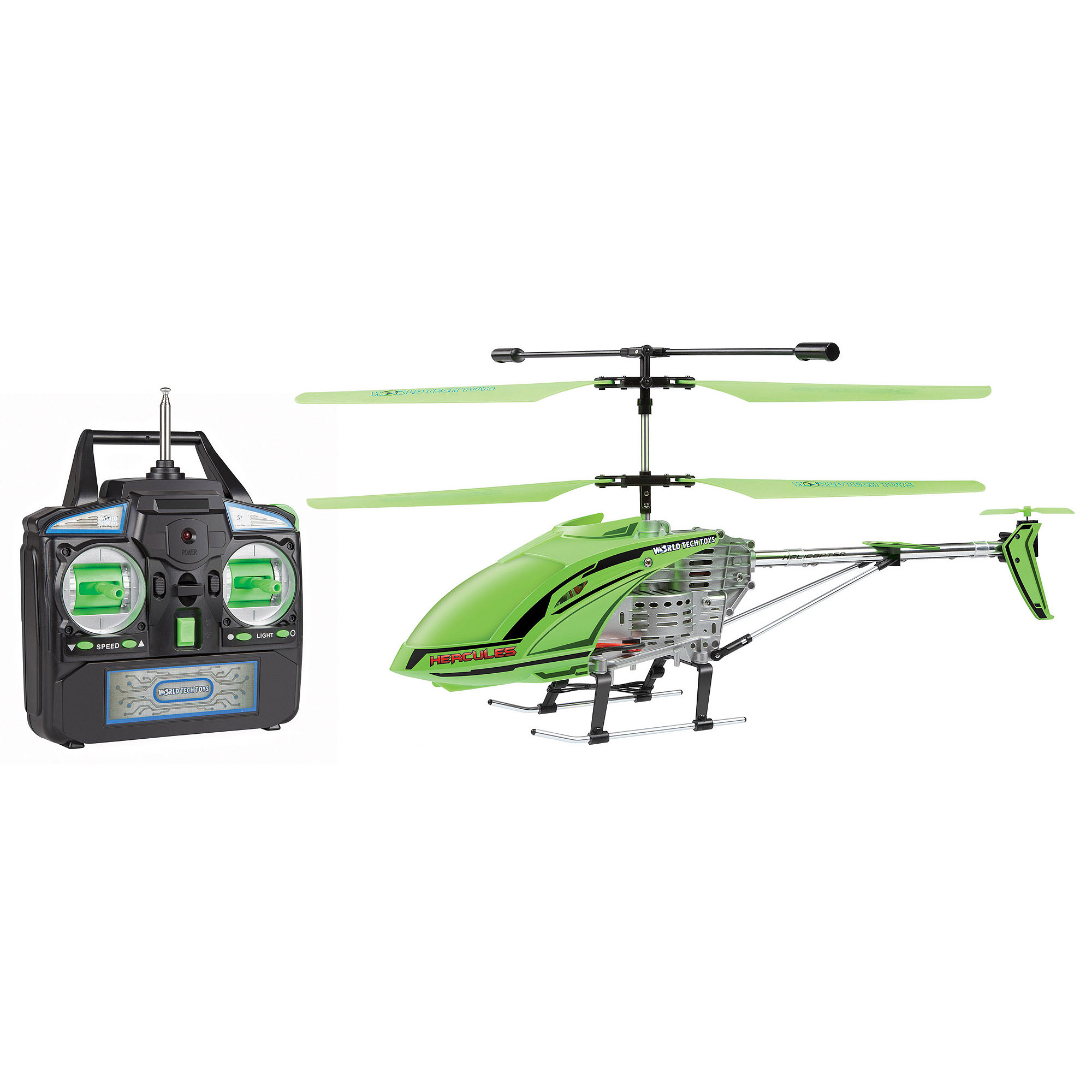 World Tech Toys 3.5CH Gyro Glow in the Dark Hercules Remote Control Helicopter