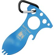CRKT CR9100BL Eat'N Tool Blue I D Works Series 1 Piece Stainless  Camping
