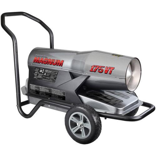 ProCom Kerosene Forced Air Heater 125,00-175,000 BTU, Multifuel, Model# PCK175VT by ProCom Heating