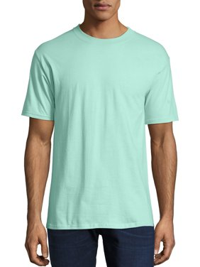 42afb67d1 Product Image Hanes Men's Beefy-T Crew Neck Short Sleeve T-Shirt, up to 6xl