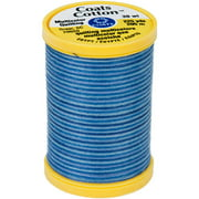 Cotton Machine Quilting Thread, Multicolor 225yd, Blue Clouds