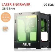 NEJE 1000mW Laser Engraver DIY USB Laser CNC Engraver Printer Cutter Engraving Machine for Leather Wood Plastic for Windows, IOS 9.0, APP
