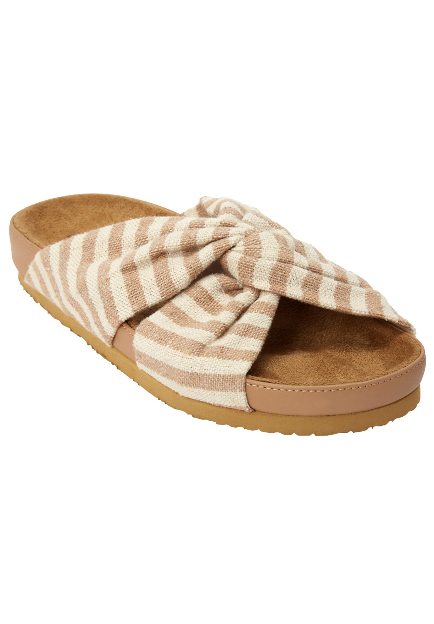 Wide Width The Reese Footbed Sandal