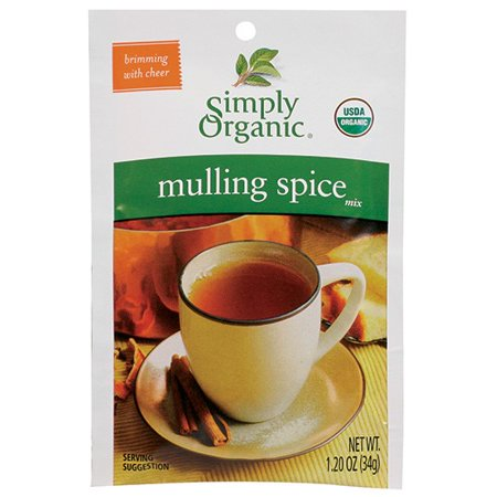 Simply Organic Mulling Spice Mix, 1.2 Oz