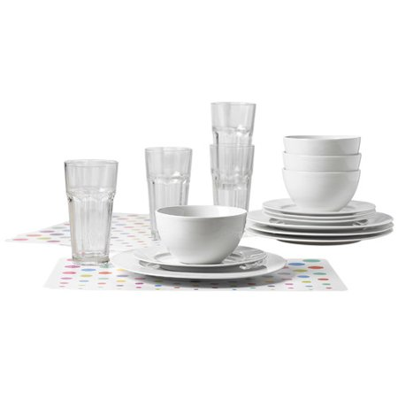 Tabletops Gallery Dinnerware 20 Piece Set - Walmart.com