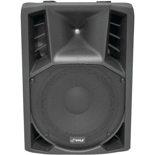 PYLE PRO PPHP128AI 1200-Watt Powered 2-Way Full Range PA Speaker with Built-in iPod(R) Dock & Microphone