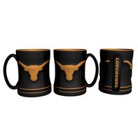 Texas Longhorns Coffee Mug 14oz Sculpted Relief