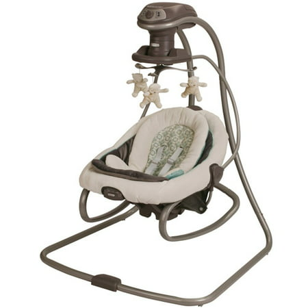 Graco DuetSoothe Baby Swing and Rocker, Winslet