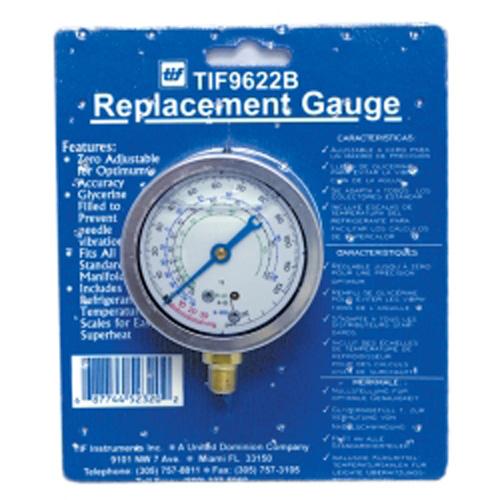 TIF Instruments 9622B Low Side R12 and R22 Auto Glycerine Refrigerant Gauge