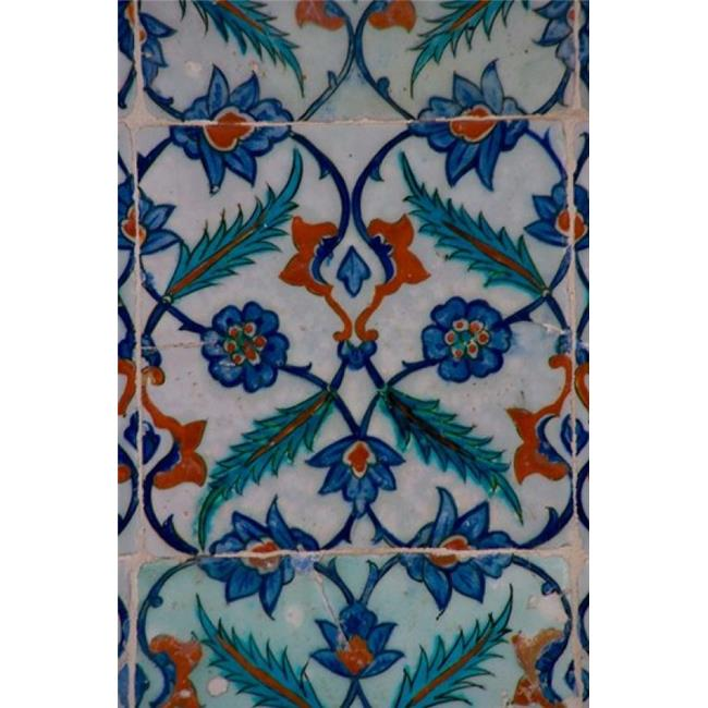 Posterazzi PDDAS37DGU0172 Colorful Tile Work in the Topkapi Palace Istanbul Turkey Poster Print by Darrell Gulin - 18 x 26 in. - image 1 de 1