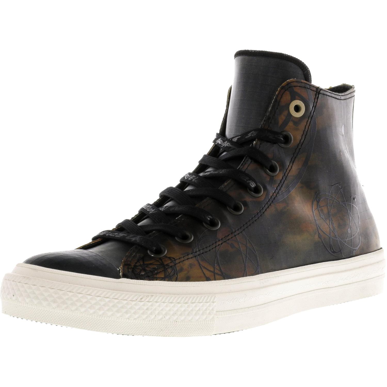 Converse Chuck Taylor All Star Ii Hi Charcoal   Black High-Top Canvas Fashion Sneaker 14M 12M by Converse