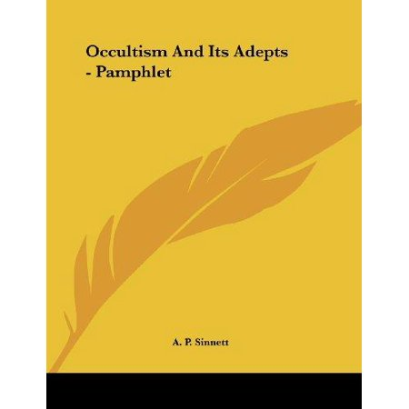 Occultism and Its Adepts - image 1 de 1