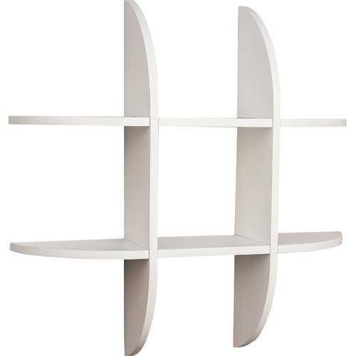 Danya B Tic Tac Toe Floating Shelf