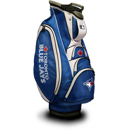 Click here to buy Team Golf MLB Toronto Blue Jays Victory Golf Cart Bag by Team Golf.