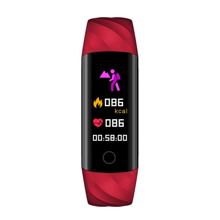 Smart Bracelet IP67 Waterproof Swim Fitness Health Monitor Heart Rate Blood Pressure Blood Oxygen Step Calorie Counter Wristband - image 5 of 7