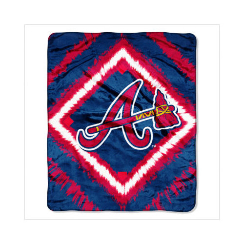 Northwest MLB Atlanta Braves Micro Raschel Blanket