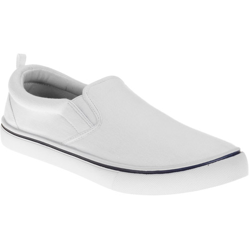 Faded Glory Men's Lakewood Canvas Slip On Shoes