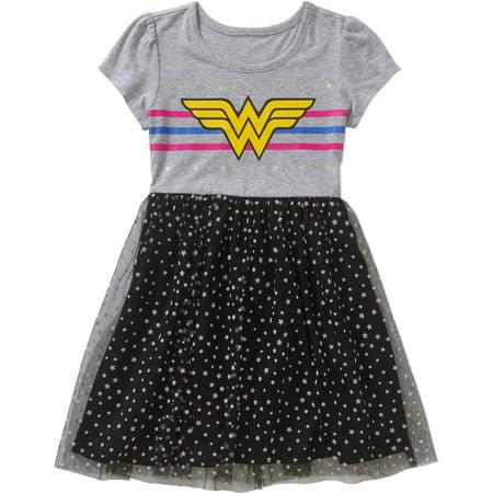 Wonder Woman Girls' Tutu Dress Walmart Beauteous Wonder Woman Skirt Pattern