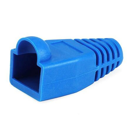 Rj 45 Strain Relief Boot (Monoprice RJ45 Strain Relief Boots, 50 pcs/pack, Blue)