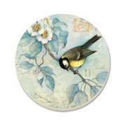 Counter Art CART13858 Bluebird & Dogwood Coaster, Set of 4