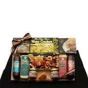 The Elegant Palette Sausage, Salami and Cheese Gift Sampler | Christmas Gift Basket