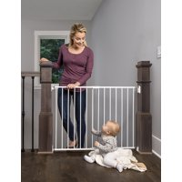 Regalo 2-in-1 Stairway And Hallway Wall Mounted Baby Gate Baby Baby Safety & Health Includes Banister And To Have A Unique National Style