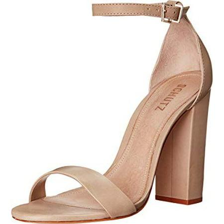 4f790bbab9d0 schutz - SCHUTZ Women s Enida Oyster Sandal (8) - Walmart.com