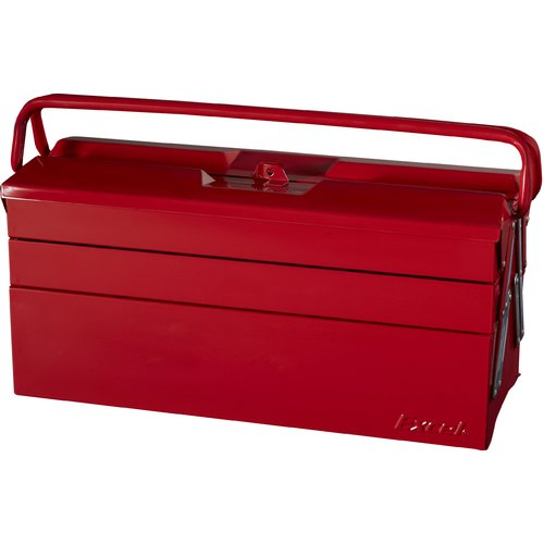 Excel Hardware Cantilever Portable Tool Box with 5 Trays