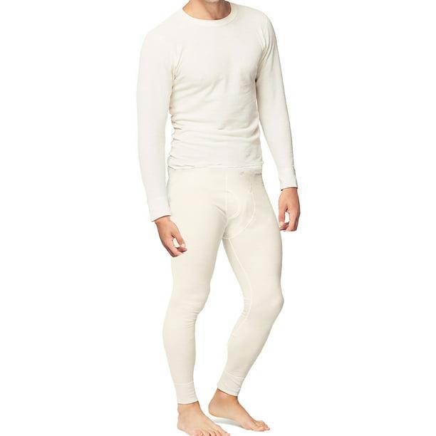 Place & Street - Place and Street Mens 2pc Thermal Underwear Set Cotton Long  Johns - Walmart.com - Walmart.com