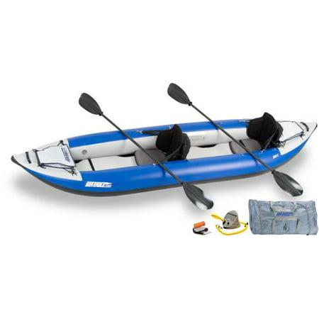 Sea Eagle 380X Explorer Inflatable Kayak Pro Carbon Package