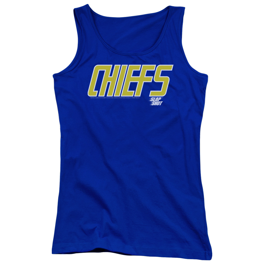 Slap Shot Chiefs Logo Juniors Tank Top Shirt