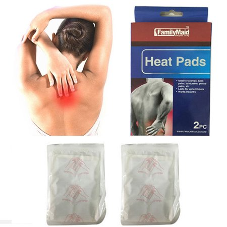 Arthritis Heat Pad - 2pc Heating Heat Pad Arthritis Joint Back Neck Pain Relief Pack Air Activated