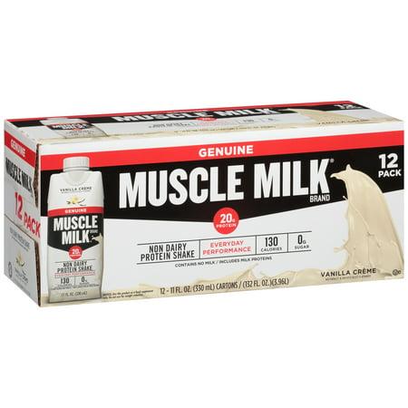 Muscle Milk® Vanilla Crème Non Dairy Protein Shake 12-11 fl. oz.